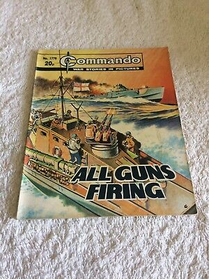 High Grade Commando Comic Number 1778 VFC