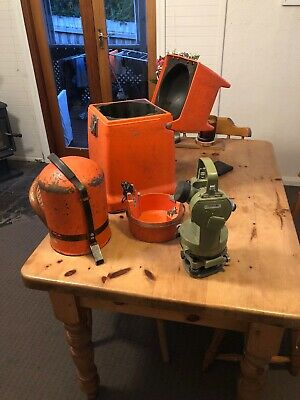 WILD Heerbrugg T1 Theodolite With Dome And Transit Cases