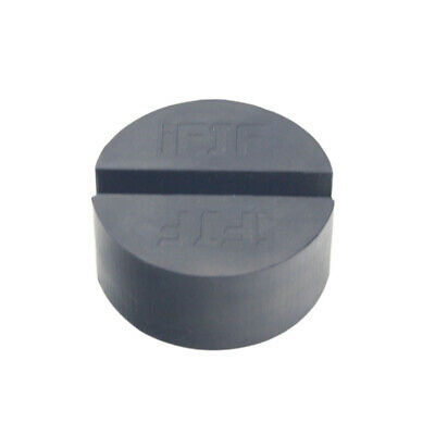 Rubber Slotted Floor Jack Pad Frame Rail Adapter Pinch Puck Universal