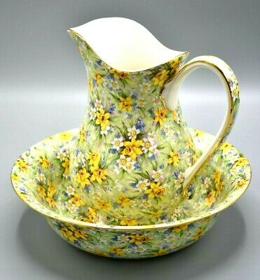 Royal Winton Chintz Jug and Bowl in the Richmond Design