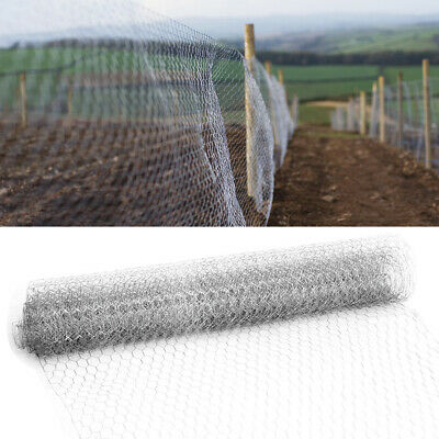 0.6m 0.9m Netting Galvanised Chicken Goose Wire Garden Fence/Fencing/Mesh Border