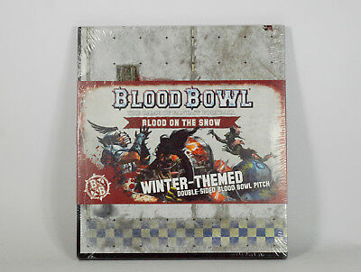 BLOOD BOWL LTD ED 1st PRINT WINTER PITCH: BLOOD ON THE SNOW [SEALED] (GW 16)