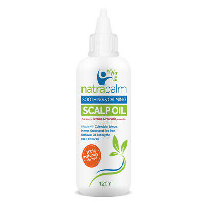Natrabalm Soothing Repair Scalp Oil for Psoriasis & Eczema Prone Scalps