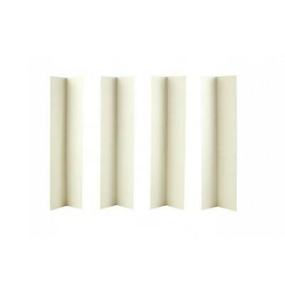 """White Cake Box Corner Extensions 14"""" high - As Low as £0.10 each"""