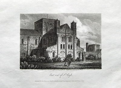 WINCHESTER,HOSPITAL OF ST CROSS, Antique Print 1808