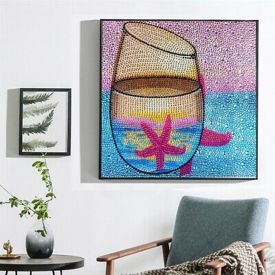 DIY 5D Diamond Painting Special Shaped Crystal Rhinestone Embroidery Paintings
