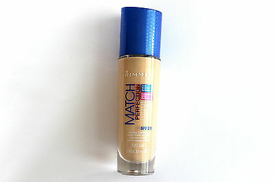 Rimmel London Match Perfection Foundation 30ml - SPF 20 - Please Choose Shade: