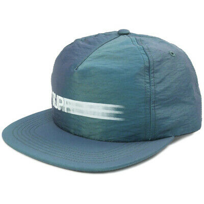 0bb5fe44e7a SUPREME SS16 MOTION Logo Iridescent 5 Panel Snapback Teal Box Logo ...