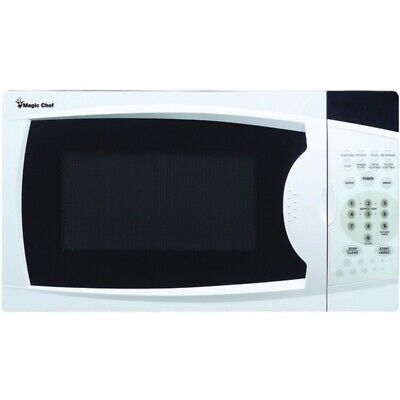 New Magic Chef MCM770W .7 Cubic-ft, 700-Watt Microwave with Digital Touch (White