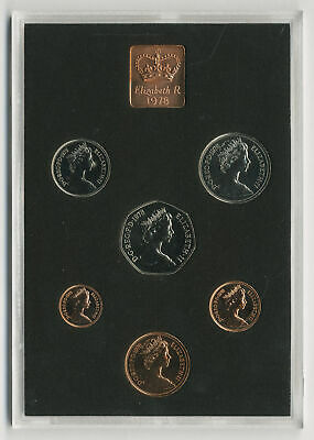1978 Coinage of Great Britain and Northern Ireland, Royal Mint proof set