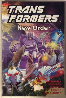Transformers TPB New Order (Titan 2002) Hi grade first print.