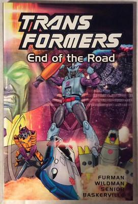 Transformers TPB End of the Road (Titan 2002) Hi grade first print.