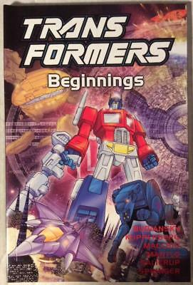 Transformers TPB Beginnings (Titan 2002) Hi grade first print.