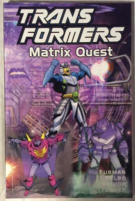 Transformers TPB Matrix Quest (Titan 2002) Hi grade first print.