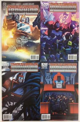 Transformers Ironhide #1 to 4 complete (IDW 2010) high grade condition