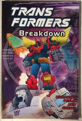 Transformers TPB Breakdown (Titan 2002) Hi grade first print.