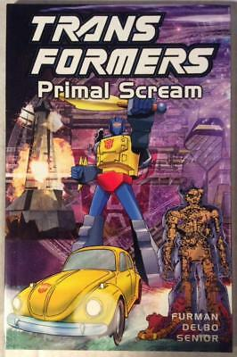 Transformers TPB Primal Scream (Titan 2002) Hi grade first print.