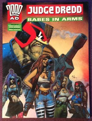 Judge Dredd Babes in Arms Graphic Novel (2000AD 1996) VF- condition.