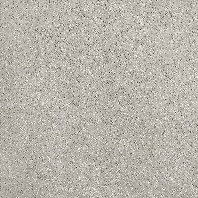 Light Grey Flecked Soft Supreme Saxony Carpet Action Backed Felt Backed 4m & 5m