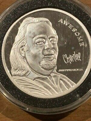 "Pawn Stars Chumlee ""AWESOME"" 1 Troy Oz Fine Silver Coin .999 Pure"