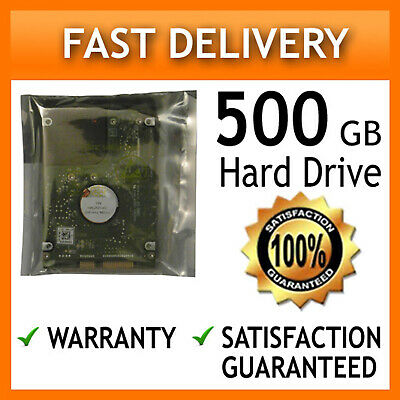 500Gb 2.5 Laptop Hard Drive Hdd Disk For Msi Cr610 Cr620 Cr630 Cr640 Cr643
