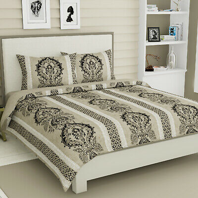 Baroque 100% Egyptian Cotton Vienna Duvet Quilt Cover NEW Toile King Bedding Set