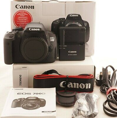 Canon Eos 700D 18Mp Digital Slr Camera Body Only, 80 Shutter Count 1172A