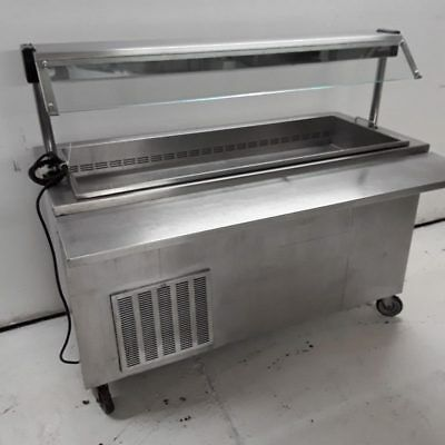 Commercial Carvery Fridge Display Chiller Moffat 4U5R