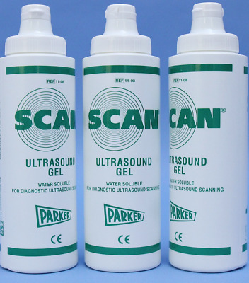 Lot 12- Parker Labs 11-08 Scan Ultrasound Gel 8oz