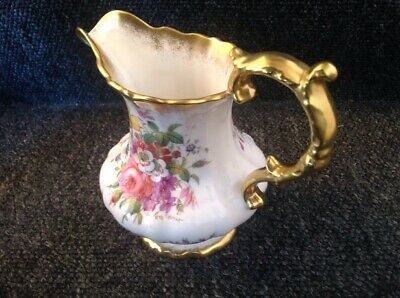 Hammersley Lady Patricia H42 ( 1 Jug 15cm in Height ) Scalloped Embossed