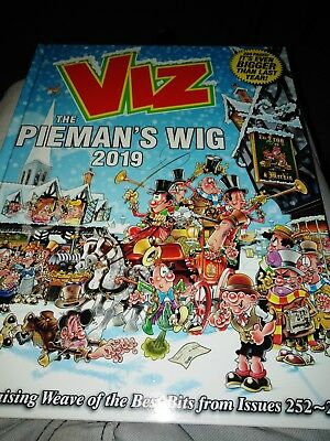 VIZ ANNUAL 2019 The Pieman's Wig *BRAND NEW*