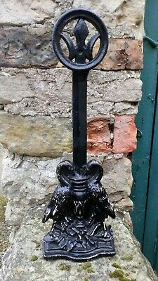 Large Cast Iron Doorstop By Kendrick No 455.