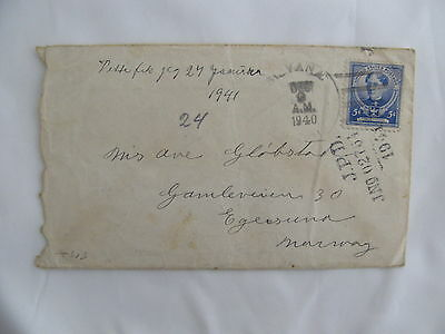 cover USA censor Zensur Germany Obercommando Wehrmacht 1940