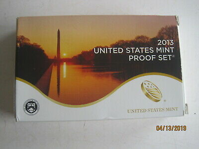 2013 United States Mint Proof Set 14 Coins With Coa