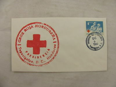 cover Honduras Red cross Croix Rouge Rotes Kreuz 1980