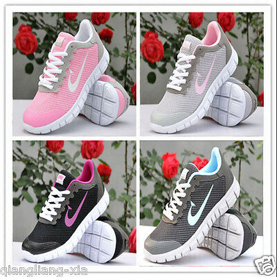 VENBU Ladies Running Trainers New Women Shock Absorbing Fitness Gym Sports Shoes