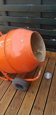 Screwfix cement mixer used