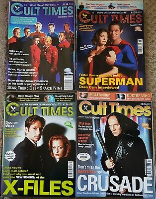 CULT TIMES MAGAZINE COLLECTION OF 62 ISSUES FROM No 3 including 4 SPECIALS