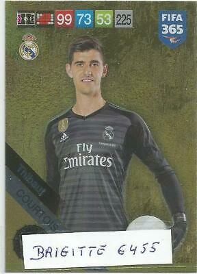./Panini Adrenalyn XL Fifa 365 2019  Limited  Edition Thibaut Courtois