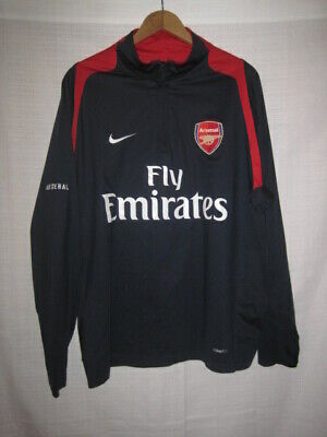 3dae4009d06 NIKE FIT DRY Arsenal FC Fly Emirates Soccer Jersey Size Men s Large ...