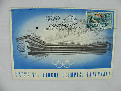 Italia olympic winter games ice hockey stadium Giochi olimpici invernali 1956