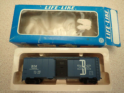 Life Like Trains HO Gauge Box Car BM Poss Unused