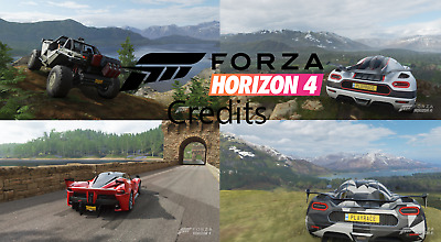 FORZA HORIZON 4 Ultimate Modded Save Xbox one/ PC (read