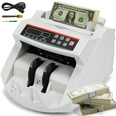 Money Bill Note Counter Batch Function Currency Detector Digital Banknote Great