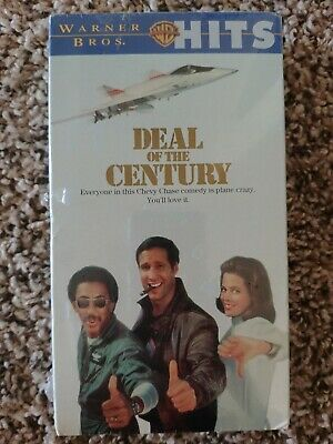 NEW NIB Deal of the Century VHS Video Chevy Chase Sigourney Weaver Gregory Hines