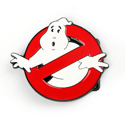 Paranormal Ghost Capturer Ghostbuster Prohibition Comics Symbol Boucle Ceinture*
