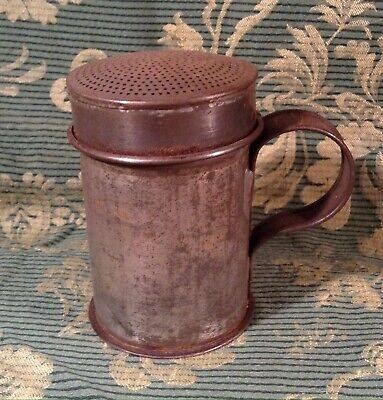 Antique Tin/Tole Flour Shaker/Sifter