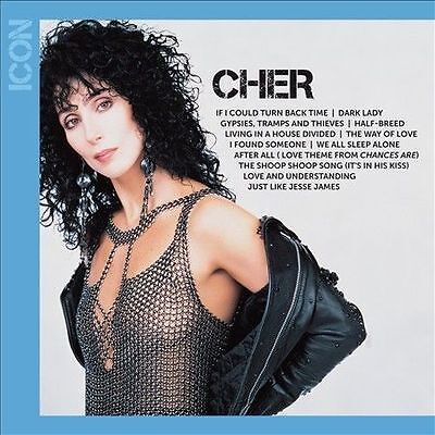 Icon by Cher CD Greatest Hits New & Sealed
