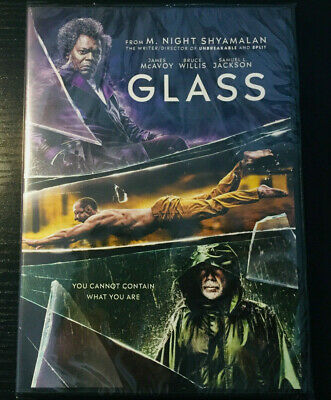 Glass (Dvd, 2019) Brand New - Free Fast Shipping!!!