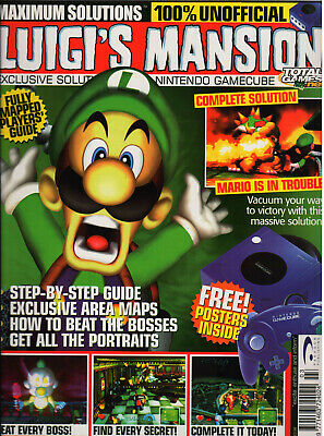 Maximum Solutions Luigis Mansion Unofficial Guide from Total Games.net